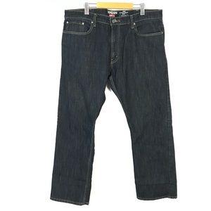 Denizen by Levi's 218 straight fit jeans 40x32